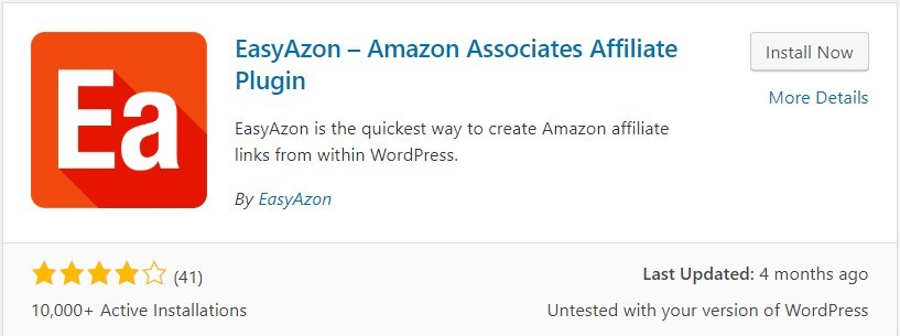 The EasyAzon WordPress Plugin
