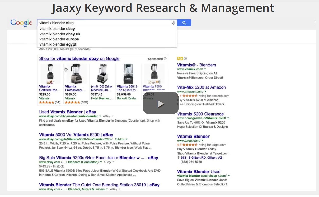 Jaaxy Keyword Tool Training Video