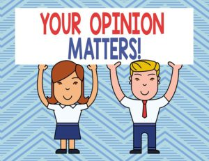 Conclusion Your Opinion Matters